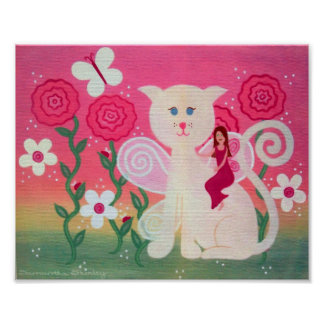 Amis féeriques félins - le chat de 8x10 Kitty Posters