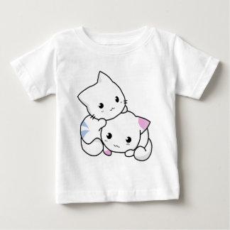 Amis mignons de chat t-shirt pour bébé