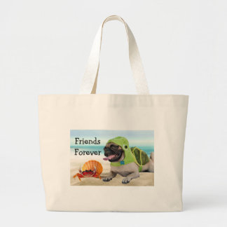 Amis pour toujours : Crabe + Carlin de tortue Grand Sac