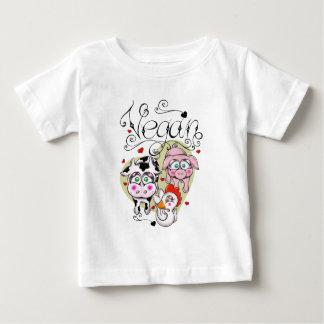 Amis végétaliens t-shirt pour bébé
