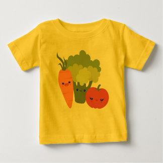 Amis végétariens t-shirt pour bébé