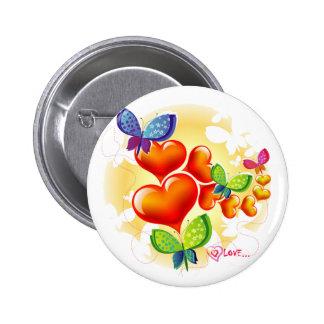 Amitié douce mignonne d'amour d'été de Colorfull Pin's