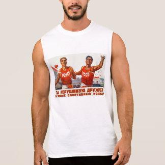 Amitié et sport soviétiques t-shirt sans manches