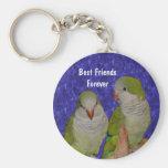 Amitié mignonne Keychain d'oiseau de meilleurs ami Porte-clés