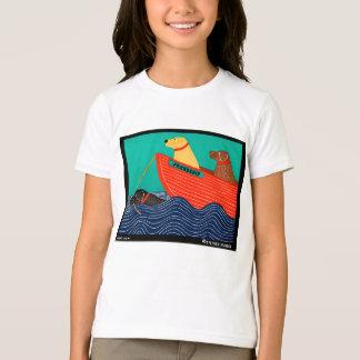 Amitié - Stephen Huneck T-shirt