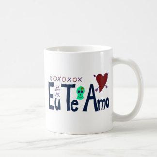 AMO de Te d Eu Tasse À Café