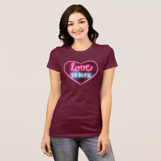 Amour 24 heures t-shirt