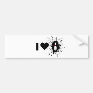 Amour 2 de roulement de l'explosif I Autocollant Pour Voiture