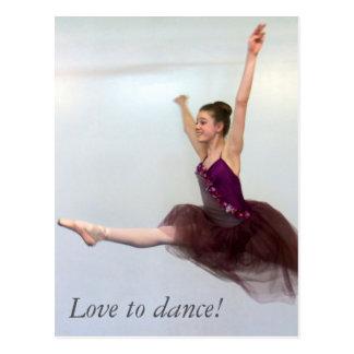 Amour à danser ! cartes postales