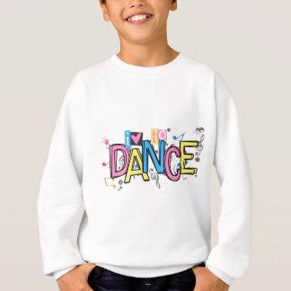 Amour à danser sweatshirt