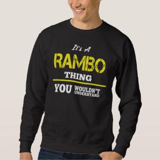 Amour à être T-shirt de RAMBO