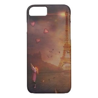 Amour à Paris Coque iPhone 7