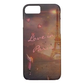 Amour à Paris Coque iPhone 8/7