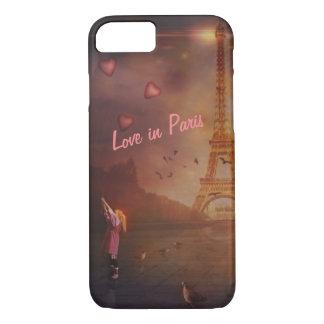 Amour à Paris II Coque iPhone 8/7