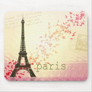 Amour à Paris Tapis De Souris