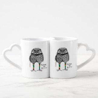 Amour à tricoter mug