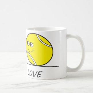 Amour-Amour de tennis Mug