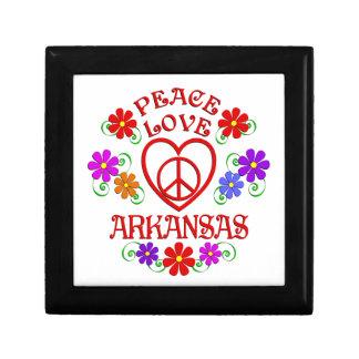 Amour Arkansas de paix Boîte À Souvenirs