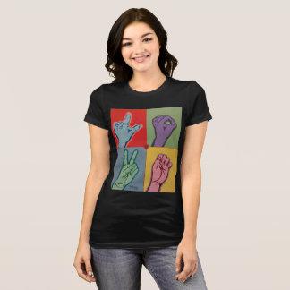 AMOUR ASL pour le T-shirt de femmes