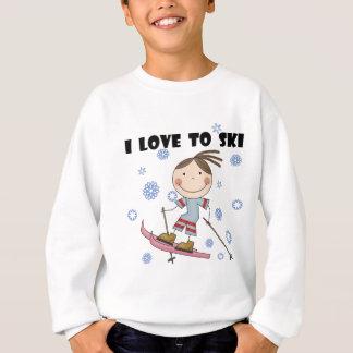 Amour au ski - T-shirts et cadeaux de fille