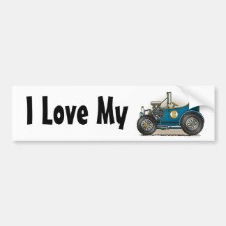 Amour bleu de la voiture I de hot rod mon adhésif  Autocollant Pour Voiture