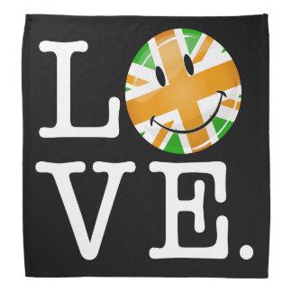 Amour britannique irlandais de drapeau bandana