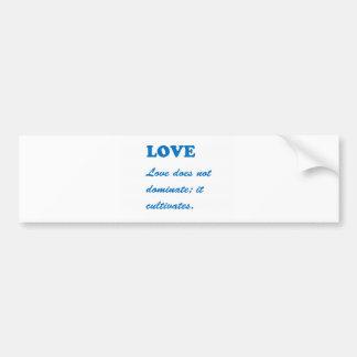 AMOUR : Cadeaux des salutations n : Coeur Romance Autocollant De Voiture