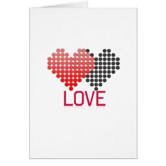amour carte de vœux