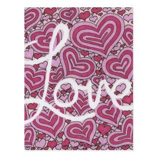 Amour Carte Postale