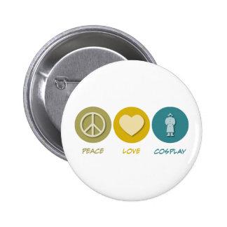 Amour Cosplay de paix Badge