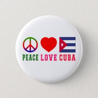 Amour Cuba de paix Badge