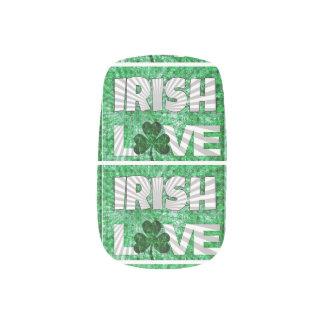 Amour d Irlandais d art de bruit Stickers Pour Ongles