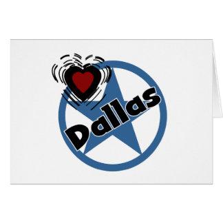 Amour Dallas Carte De Vœux