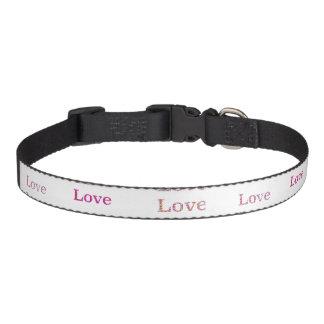 Amour d'amour d'amour collier pour chien
