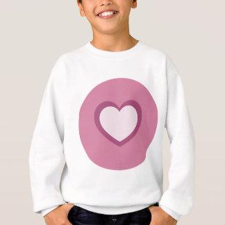 Amour dans beaucoup de formes et de couleurs sweatshirt