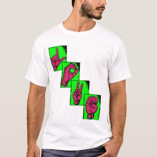 AMOUR dans la langue des signes T-shirt