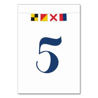 AMOUR dans les drapeaux nautiques colorés Carte