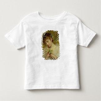 Amour dans une brume (huile sur la toile) t-shirt pour les tous petits
