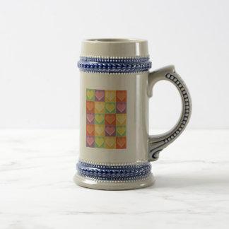 Amour d'art de bruit tasse à café