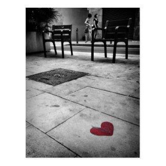 Amour de Barcelone Carte Postale