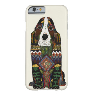 Amour de Basset Hound Coque iPhone 6 Barely There