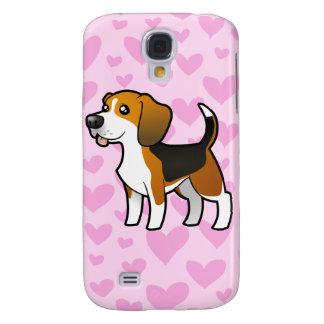 Amour de beagle (ajoutez un pern) coque galaxy s4