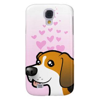Amour de beagle coque galaxy s4