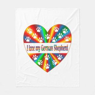 Amour de berger allemand
