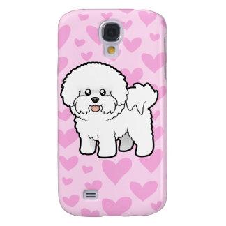 Amour de Bichon Frise (ajoutez votre propre Coque Galaxy S4