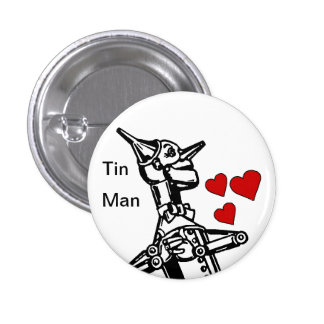 Amour de bouton d'homme de bidon le grand magicien badge rond 2,50 cm