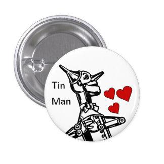 Amour de bouton d'homme de bidon le grand magicien pin's