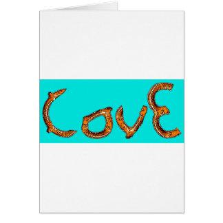Amour de bretzel cartes
