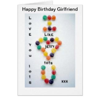 Amour de carte d'anniversaire d'amie vous divise