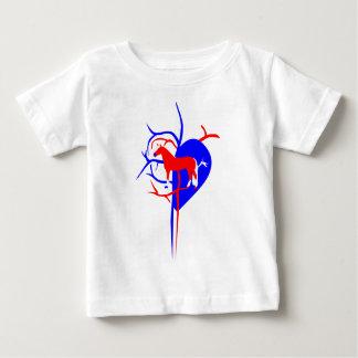 Amour de cheval de Haflinger T-shirt